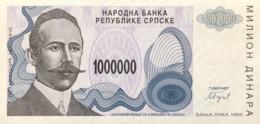 Bosnia 1.000.000 Dinara, P-155 (1993) - UNC - Bosnia And Herzegovina