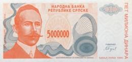 Bosnia 5.000.000 Dinara, P-156 (1993) - UNC - Bosnia And Herzegovina