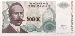 Bosnia 500.000.000 Dinara, P-158 (1993) - UNC - Bosnia And Herzegovina