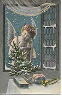 Angel, Engel, Ange, Angelo, Tannenbaum, Christmas Tree, Sapin De Noël, Weihnachtsbaum, Trumpet, Presents - Altri