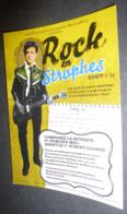 Carte Postale : Rock En Strophes 2007 (Arthur Rimbaud Avec Une Guitare) Ville De Saint Cloud - Advertising