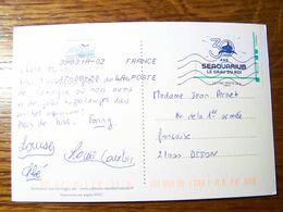 France - 30 Ans De SEAQUARIUM Le Gros Du Roi - Sur Carte Postale CPM - Oblitération De MAUGUIO LANGUEDOC Du 17/08/2020 - Collectors