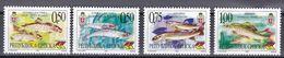 Bosnien Herzegowina (Serbische Republik) 1999 - Mi.Nr.135 - 138 - Postfrisch MNH - Tiere Animals Fische Fishes - Fishes
