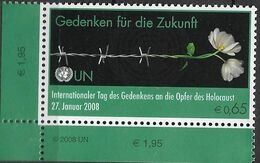 2008 UNO Wien Mi. 521**MNH   Internationaler Holocaust-Gedenktag: Gedenken Für Die Zukunft - Gezamelijke Uitgaven