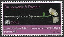 2008 UNO Genf Mi. 587 **MNH  Internationaler Holocaust-Gedenktag: Gedenken Für Die Zukunft - Gezamelijke Uitgaven