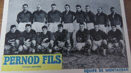 EQUIPE DE MONTAUBAN - Rugby