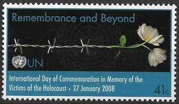 2008 UNO New York  Mi. 1078 **MNH   Internationaler Holocaust-Gedenktag: Gedenken Für Die Zukunft - Gezamelijke Uitgaven