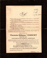 Theresia Bibiana Verbert ° Lovenjoul 1844 + Lovenjoul 1927 X Antonius Eugenius Stienlet - Sonstige