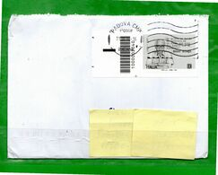 Italia °- 2020 - ENZO BIAGI. Con Codice A Barre. Isolato Su Busta.  Usato - 2011-...: Oblitérés
