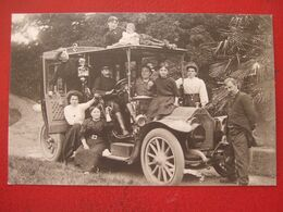 """AUTOMOBILE - CARTE PHOTO - """" AUTO, TACOT LORRAINE DIETRICH 30 CV """" - TRES BELLE CARTE - ETAT : SUPERBE - Unclassified"""