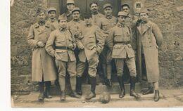 Carte-Photo : Portrait Militaire - Etat Major N°20 Sur Le Col - Médailles (BP) - Krieg, Militär