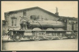 Locomotives Du NORD - Machine N° 3395 (ex 3101) Du Type 130 - H. M. P. N° 237 - Voir 2 Scans - Treni