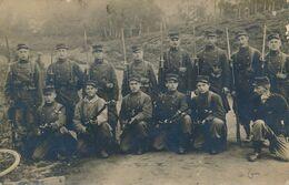 Carte-Photo : Portrait Militaire - 8 Régiment D'infanterie - Camp De La Courtine (18.8.1915) (BP) - Krieg, Militär