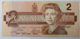 Canada 2 Dollars 1986 Ottawa Type Robin Merle D'Amérique - Canada