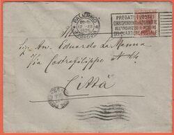 Regno D'Italia - 1925 - 30c + Flamme + Quartiere Postale 47 - Ufficio Tecnico Provinciale - Viaggiata Da Palermo Per Pal - Marcofilía