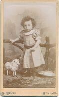 CDV - Portrait D'une Fillette Par A. Détraz à Albertville - Jouet  (Ca 1895) (BP) - Fotos