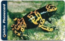 Australia - Telstra (Chip) - P Series 1998 Frogs - Poison Dart Frog, Exp. 01.2000, 5$, 1.000ex, Mint - Australië