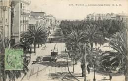 TUNISIE TUNIS AVENUE JULES FERRY - Tunisia