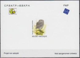 Doc 238 - NA35 - Chouette Chevêche - Steenuil (Athene Noctua) - 1985-.. Birds (Buzin)
