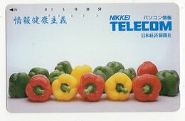TELECARTE JAPON POIVRON - Food