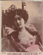 ARTISTE FEMME A IDENTIFIER. COLORISE. CARTE DE COLLECTION, TABAC. MONTEVIDEO CIRCA 1915. PETITE TAILLE -LILHU - Other Brands