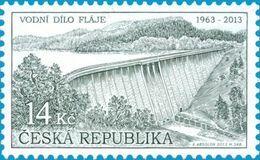 ** 763 Czech Republic Flaje Water Dam 2013 - Acqua