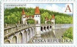 1022 Czech Republic The Les Kralovstvi Dam 2019 - Water