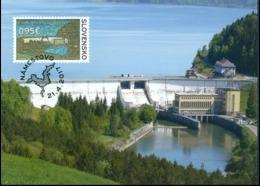 CM 634 Slovakia Orava Water Dam 2017 - Acqua