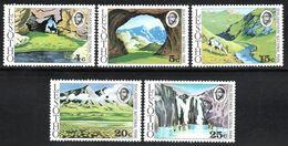 Lesotho - 1975 Sehlabathebe National Park Set (**) # SG 278-282 - Lesotho (1966-...)