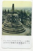 INDONESIE TELECARTE JAPON BOUDDHISME / TEMPLE CANDI BOROBUDUR - Indonesien