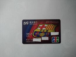 China, FCB, Futbol Club Barcelona, Football, (1pcs) - Credit Cards (Exp. Date Min. 10 Years)