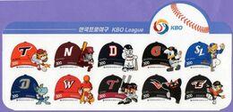 Korea, South 2016. Baseball League. Talismans. MNH - Korea (Süd-)