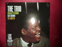 LP33 N°5612 - THE TRIO OSCAR PETERSON & RAY BROWN & ED THIGPEN - 2304 194 - Jazz