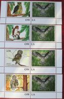 Tajikistan  2019  Owls  Eulen  4 V + Labels      MNH - Tajikistan