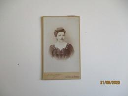 Cliche Photo  Bruant La Ferte Sous Jouarre    Portrait  Cdv Femme - Persone Anonimi