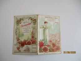 1912 Calendrier  Parfumerie Du Lion H Robert  Savon L Incomparable - Formato Piccolo : 1901-20