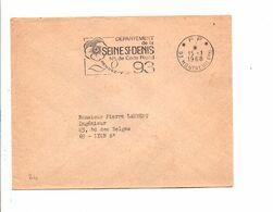 FLAMME EN PORT PAYE DE MONTREUIL SEINE SANT DENIS 1968 - Annullamenti Meccanici (pubblicitari)