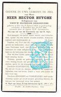 DP Hector Huyghe ° Gits Hooglede 1879 † Roeselare 1947 X Math. Desloovere - Andachtsbilder