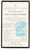 DP Begijn Begijntje Béguine - Maria Th. Stappers ° Gierle Lille 1812 † Herentals 1905 - Images Religieuses