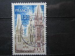 """VEND BEAU TIMBRE DE FRANCE N° 1808 , OBLITERATION """" ST-QUENTIN """" !!! - Oblitérés"""