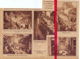 Orig. Knipsel Coupure Tijdschrift Magazine - Grimbergen - 800 Jarige Bestaan Der Abdij - 1928 - Oude Documenten