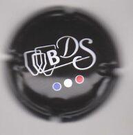 Capsule Bière ( BDS , Fond Noir , Taille Quart ) {S37-20} - Bière