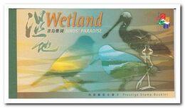 Hong Kong 2000, Postfris MNH, Birds, Wetland - Cuadernillos/libretas