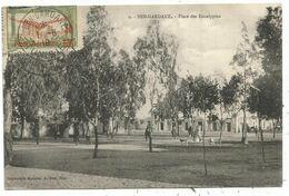 TUNISIE PA 30C DEFAUT AU RECTO CARTE CACHET SPECIAL BEN GARDANE 1.6.19 POSTE AERIENNE - Tunesien (1888-1955)