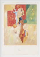 """Alain Baiguerra """"l'existence Du Double Et Son Violon"""" 1994 - Galerie De Neuilly (cp Vierge) - Paintings"""