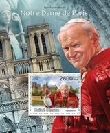 GUINEA BISSAU - 2013 - Notre Dame De Paris, 850th Anniv - Perf Souv Sheet  - M N H - Guinea-Bissau