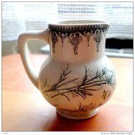 Ancien Petit Pot En Faïence Décoré - Autres
