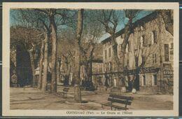 CPA - COTIGNAC - Le Cours Et L'Hôtel - Cotignac