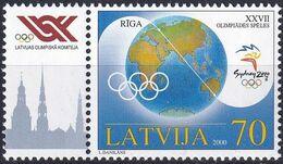 LETTLAND 2000 Mi-Nr. 528 ** MNH - Latvia