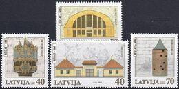 LETTLAND 2000 Mi-Nr. 523/26 ** MNH - Latvia